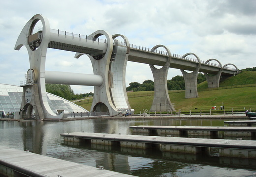Falkirk Wheel and Antonine Wall - June 2010