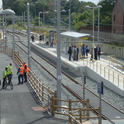 Metrolink South Manchester Line - First Days of Operation - July 2011