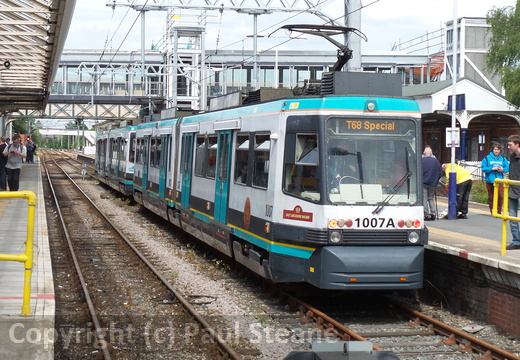 Manchester T68 Tram Farewell Special - May 2014