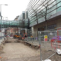 Manchester 2CC - Construction Works - February 2015