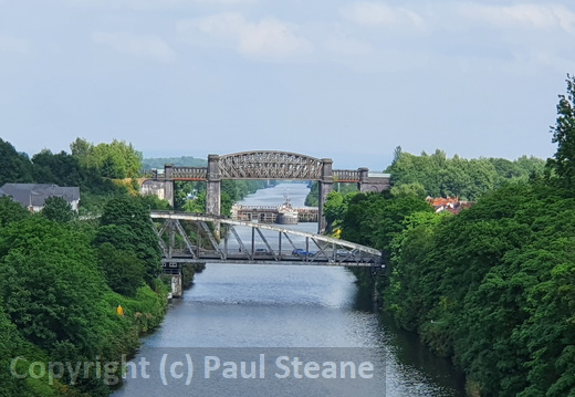 Latchford High Level bridge